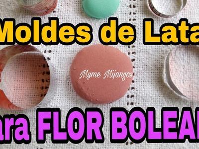 MOLDES DE LATA PARA TECNICS FLOR BOLEADA