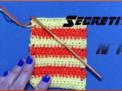 Secreto o Tip n° 15 ¿Cómo tejer con dos colores en tejido crochet o ganchillo? Moda a Crochet