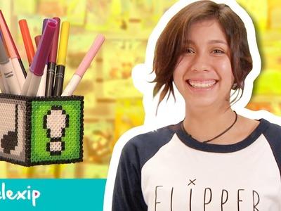 Todo Pixeles :: Pixelexip 02 - Crea esta práctica lapicera con tus Hama Beads sin usar pegamento