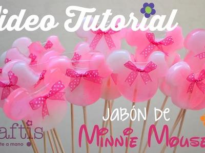 Tutorial: cómo hacer jabón de Mimi Mouse | How to make Minie Mouse soaps