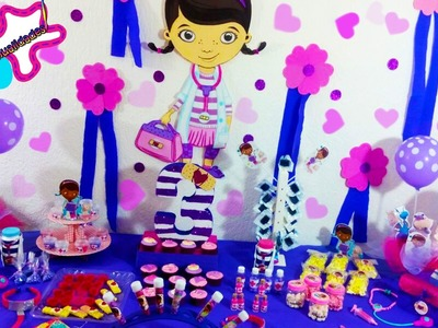 8 ideas de DOCTORA JUGUETES para fiesta.candy bar ????SUPERMANUALIDADES????