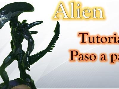 ALIEN COVENANT ESPECIAL ✅ Como hacer a Alien Xenomorfo de Plastilina tutorial