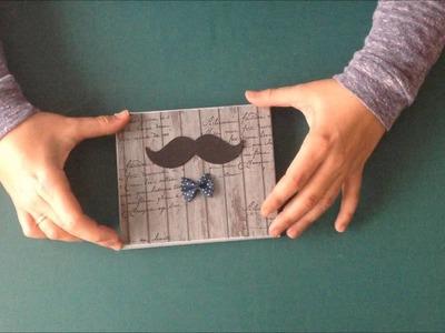 Caja de madera dia del padre