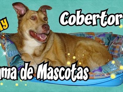 Cobertor para cama de Mascotas Manualidades DIY Costura Tutorial