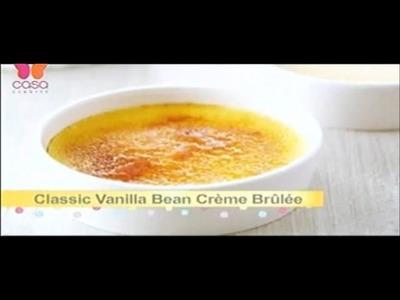 Como hacer Creme Brulee Bake With Anna Olson  Programa completo español.latino
