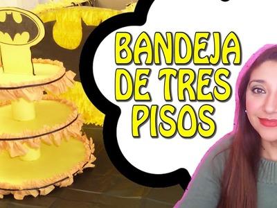 COMO HACER UNA BANDEJA DE TRES PISOS -  Paito