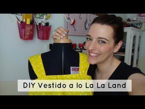 DIY Vestido fácil a lo La La Land