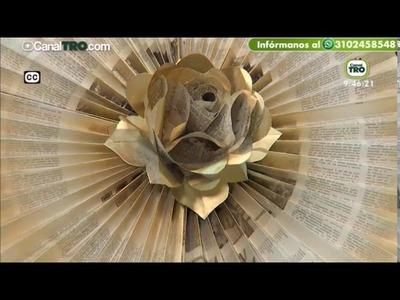 Proyecto basado en rosas en papel para decorar - Hecho con Estilo