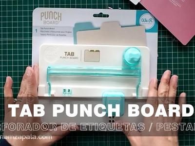 TAB Punch Board. Cómo usar la herramienta