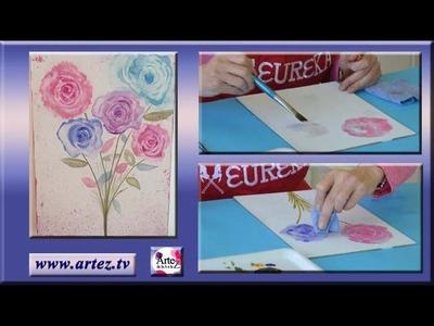 Tips para pintar con la técnica de acrílicos acuarelados