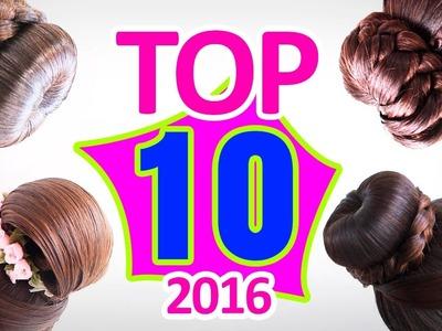 TOP 10 en peinados 2016 | Peinados con trenzas |  hairstyles