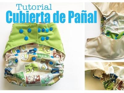 Tutorial de Cubierta de Una Talla, Flip Style con Bolsillo para las Piernas - Los290ss