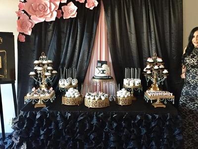 Una Mirada a los postres y Mesas que prepare para mi Cumpleaños #??