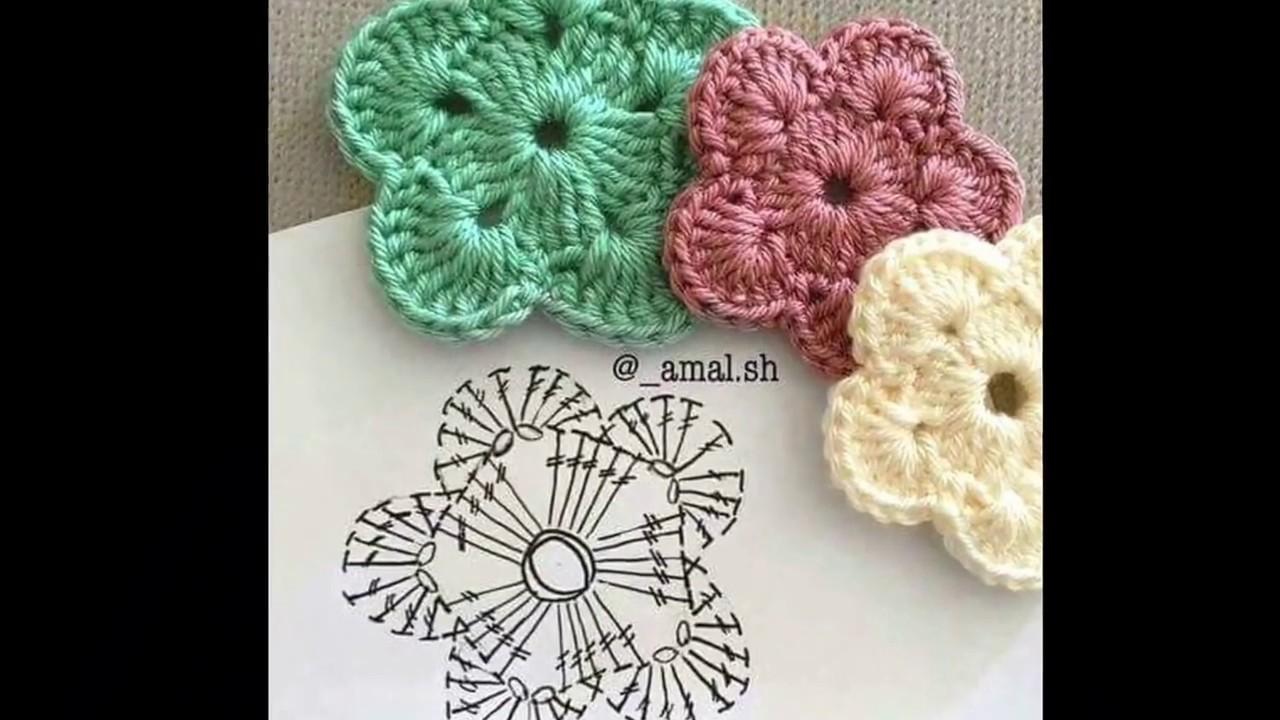 Carpeta o Tapete Tejido a Crochet