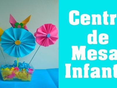 Centro de Mesa Infantil (Children's table center)