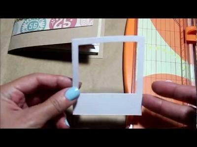 Como Crear un Molde de Camara Instantanea (Mini Instax)