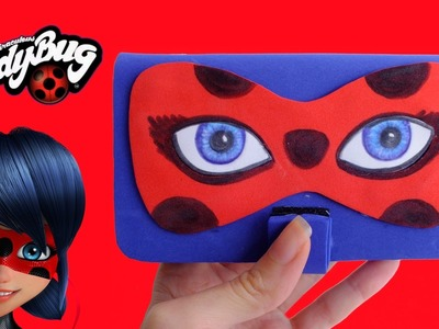 DIY FUNDA PARA MÓVIL LADYBUG Miraculous - Antifaz