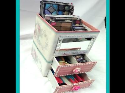 DIY organizador. Manualidad con cartón (Y TU COMO LO HARIAS?)