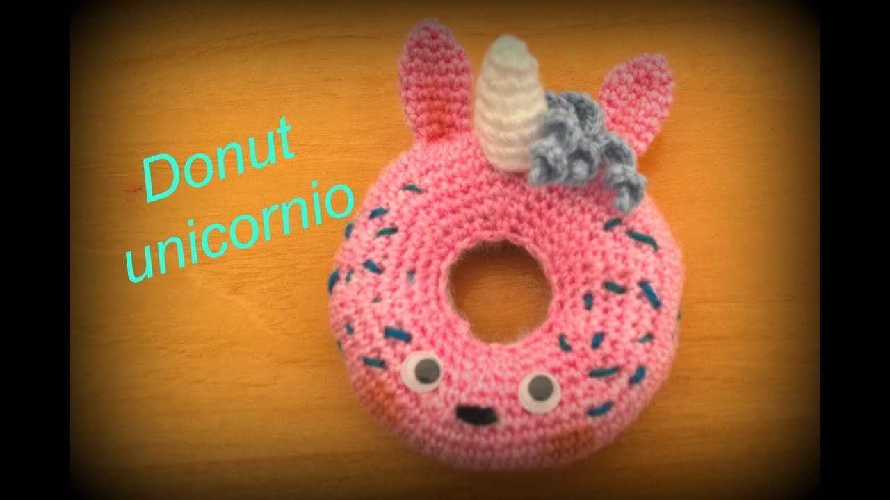 ????Donut unicornio???? || Crochet o ganchillo