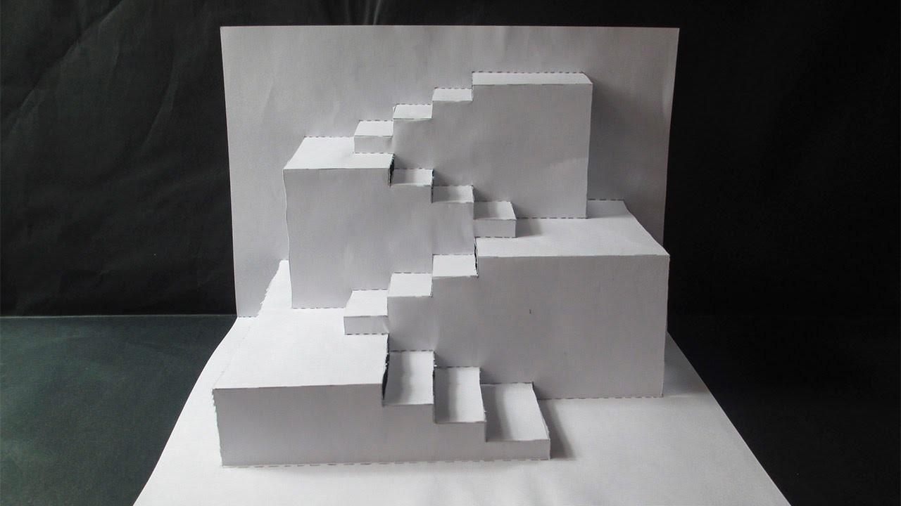 Increible Diseño 3D En Papel