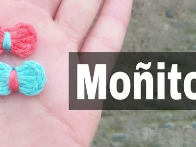 Moñito a crochet EN 3 MINUTOS!!!