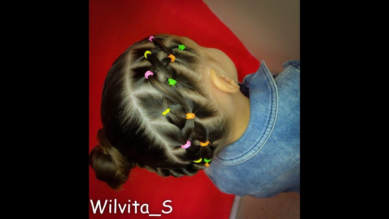 Peinado fácil para niña. Easy hairstyle for girl ❤