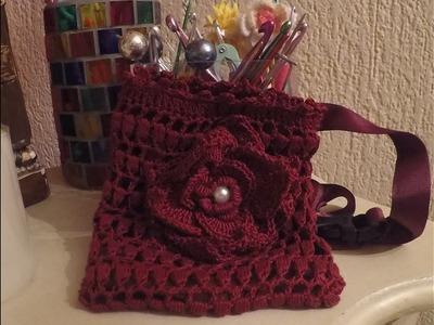 Tutorial funda de móvil a crochet 3ª edad