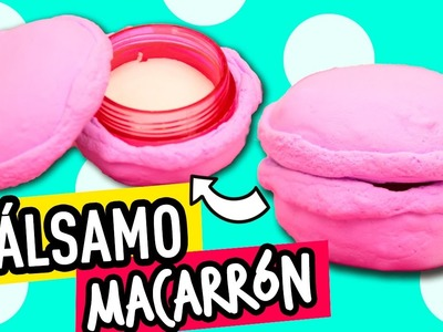 Balsamo para Labios Casero + DIY para hacer estuche de Macaron | EOS casero | Cat Beauty