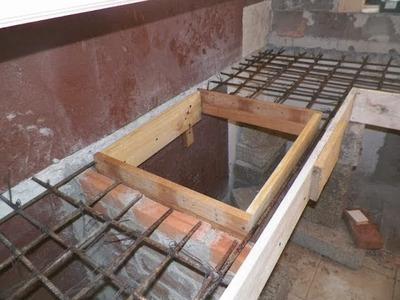 Barra de cocina en porcelanato y cemento empotrada.  (parte 1) . DIY kitchen bar