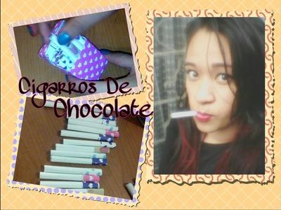 Cigarros De Chocolate ???????? Y Cajetilla Con Medidas ???????? - ???? Erika Garces ????