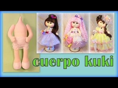 CUERPO DE LA MUÑECA KUKI DE manualilolis video- 264