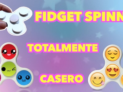 """""""DIY"""" FIDGET SPINNER  ¡TOTALMENTE CASERO!, con materiales que tienes en casa????"""