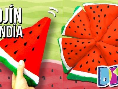 DIY Watermelon PILLOW. NO SEW! Como hacer un COJÍN de SANDÍA, ¡sin COSER! ✅  Top Tips & Tricks
