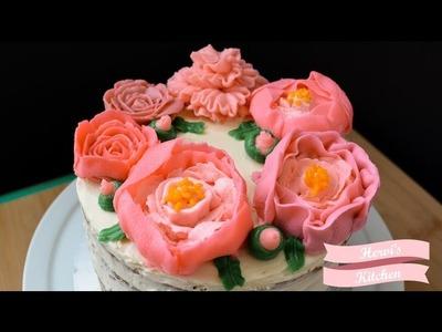 Flores de Betún | Flores de Buttercream | Básicos de Repostería