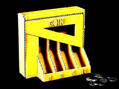 Hacer una máquina de clasificación de monedas de cartón