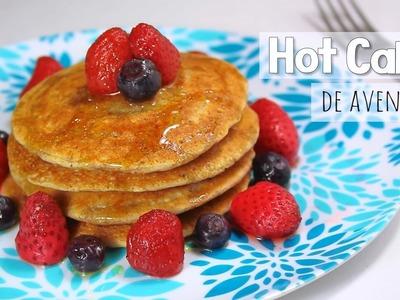 HOT CAKES DE AVENA RECETA SALUDABLE ???? (desayuno o cena fácil - panqueques) | Mirem Itziar ❤