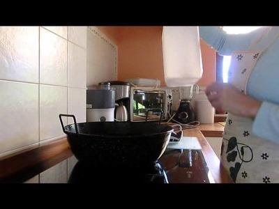 Jabón líquido para la lavadora