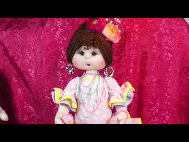 Presentacion de la muñeca Marylo flamenca manualilolis video- 253