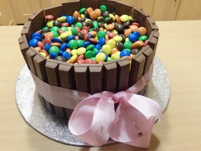 Tarta de KitKat y Lacasitos  | Sin Horno  |  Especial 500 suscriptores