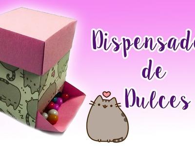 Cajita Dispensadora de Dulces - DIY