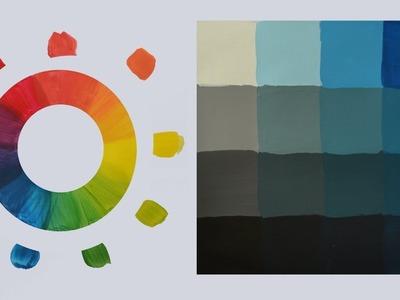 Color: Tono, valor, saturación. Curso de pintura.