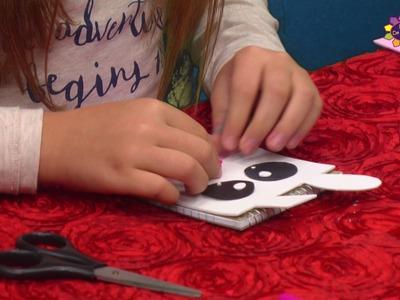 Cómo decorar una Libreta - Manualidades para Niños