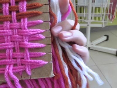 Cómo hacer mantón.manta de lana