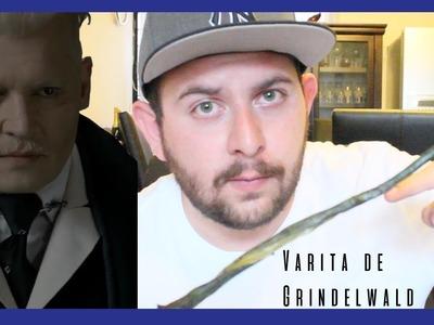 Como hacer una varita de Harry Potter   Grindelwald