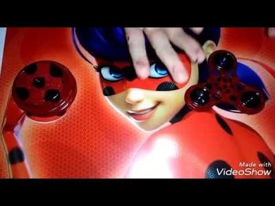 DIY como hacer Fidget Spinner y yoyo de Ladybug