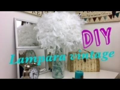 DIY.LAMPARA EN UNA BOTELLA  | ESTILO VINTAGE | DOLLAR TREE