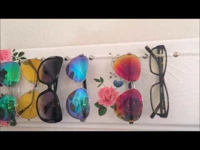 DIY:Organizador de lentes