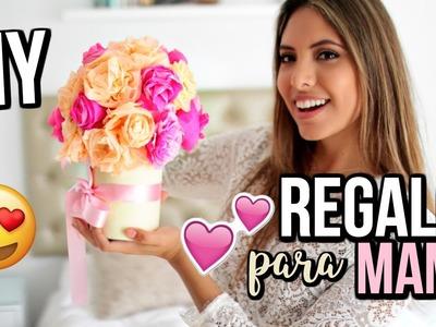 DIY REGALO PARA MAMÁ FÁCIL Y RÁPIDO ????Sorpréndela!!!   Valeria Basurco