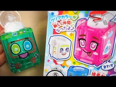 Dulces Japoneses DIY  Moko Moko maquina de lavado 2