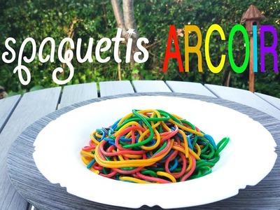 Espaguetis ARCOIRIS Pasta RAINBOW